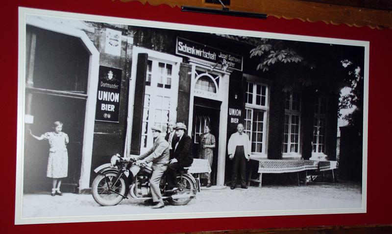 Restaurant Lindenhof altes Foto