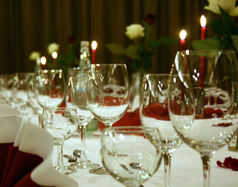 Lindenhof Hochzeitstafel